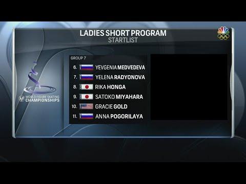2016 Worlds - Ladies SP Group 7 NBCSN