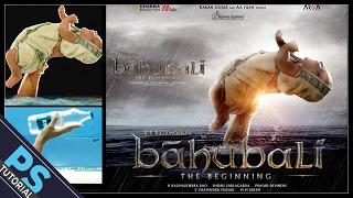 Making of Bahubali movie poster | Photoshop Tutorial | Photo Manipulation