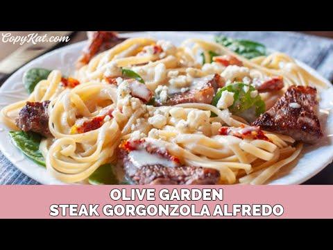 How to Make Olive Garden Steak Gorgonzola –  Copycat Recipe