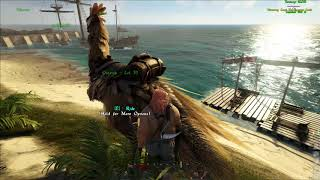 ATLAS MMO:Ostrich Bug.Get stuck while dismount