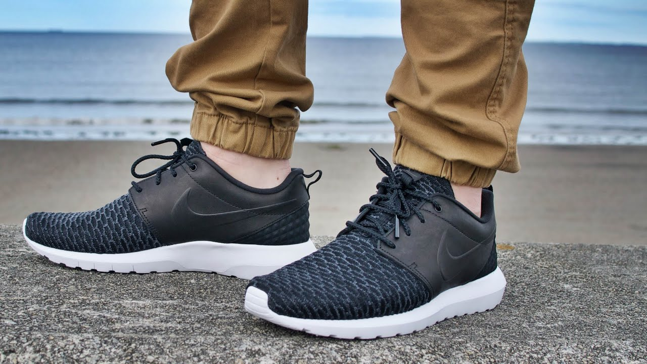 nike roshe one flyknit premium casual shoes