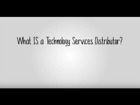 What Is A Technology Services Distributor UK