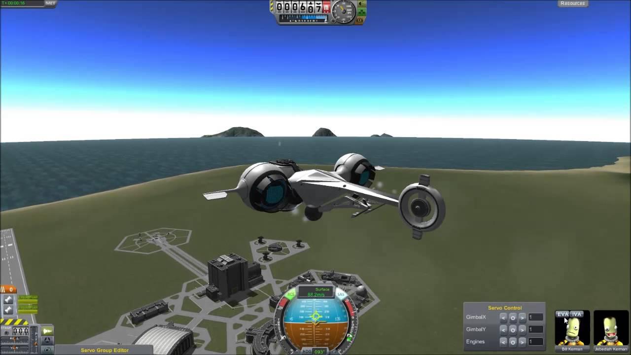 Oblivion BubbleShip for Kerbal Space Program - YouTube