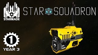 STARMADE - Deep Space Miner - Star Squadron Multiplayer - s3e01