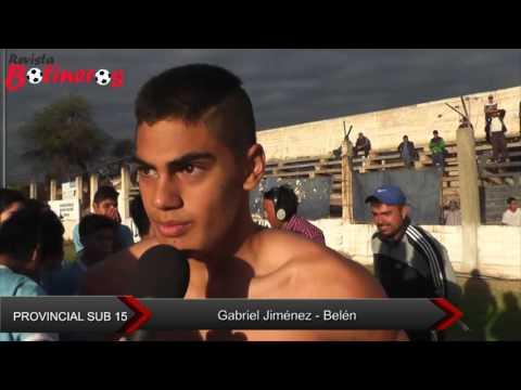 Provincial Sub 15: Gabriel Jiménez Belén