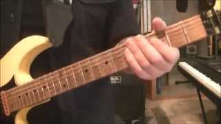 How to play Because Of Jesus by Whitecross on guitar by Mike Gross(CVT Lesson for Jason-Part 1)
