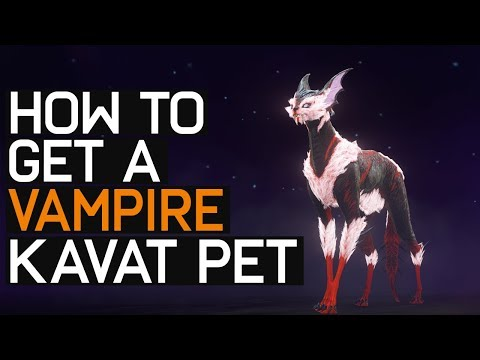 Warframe: How To Get Vampire Kitty Pet - Vasca Kavat