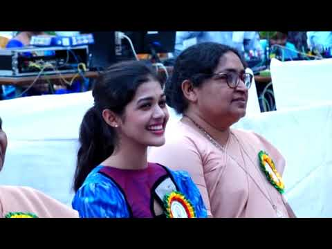 Back To Her Own School as a Chief Guest- Tejaswini Manogna || Grand Welcome