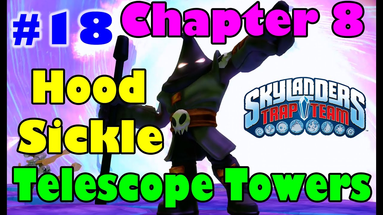 Skylanders Trap Team Part 18 Chapter 8 : Telescope Towers ...