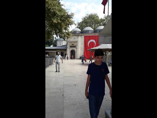 Mustafa dikmen EYÜP sultan camii de