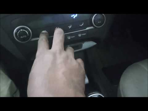 Hyundai i20 elite car AC Filter Clean Up / Replace