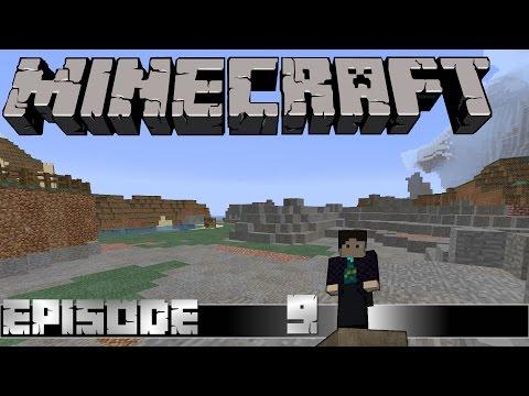 Let's Play - Minecraft E09 - A little bit of Diggy Diggy