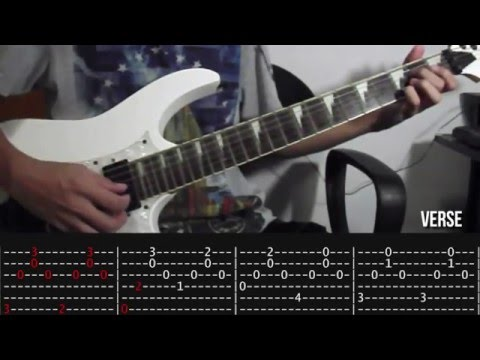 Aubrey - Bread Guitar Tutorial Slow Playthrough (WITH TAB)