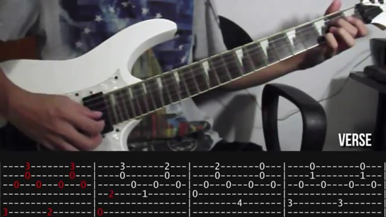 Aubrey Bread Guitar Tutorial Slow Playthrough With Tab Youtube
