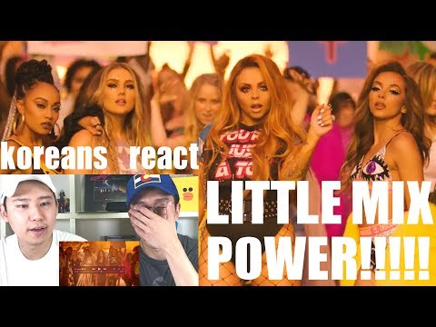 Little Mix - Power ft. Stormzy [Koreans React]