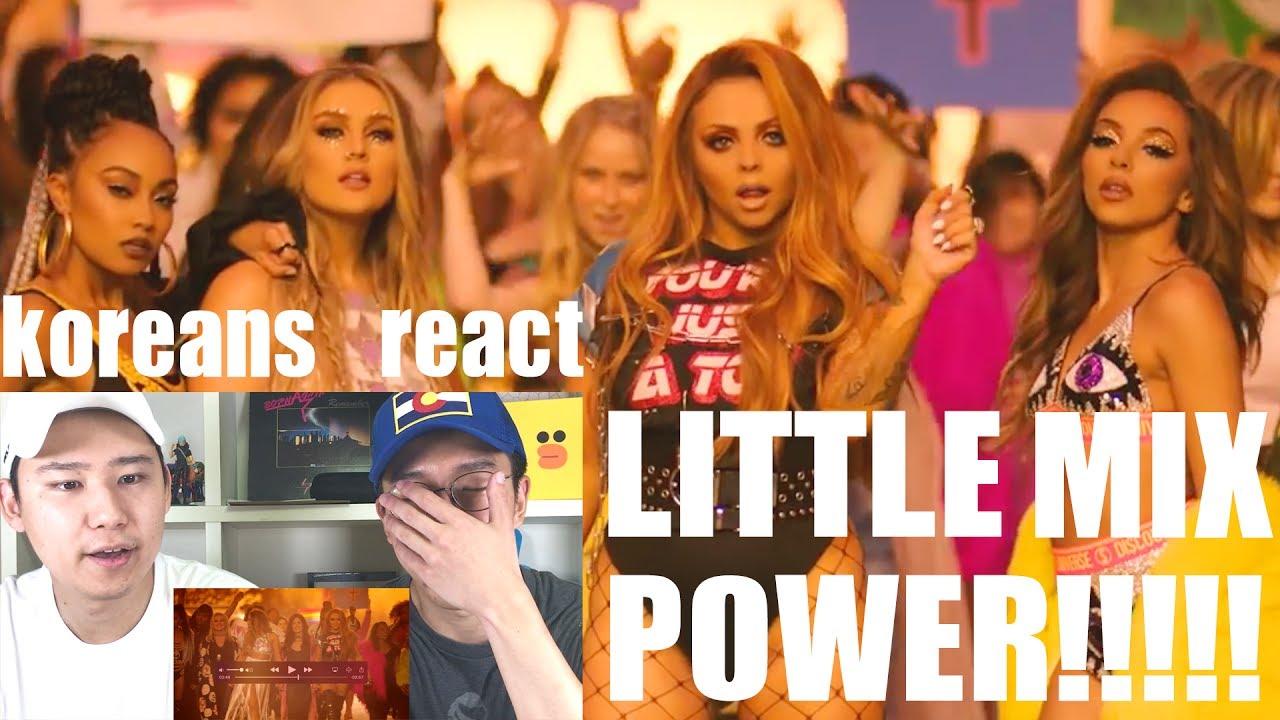 Little Mix - Power ft. Stormzy [Koreans React] - YouTube