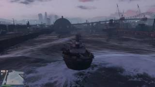 GTA Online: Sinking a Tugboat