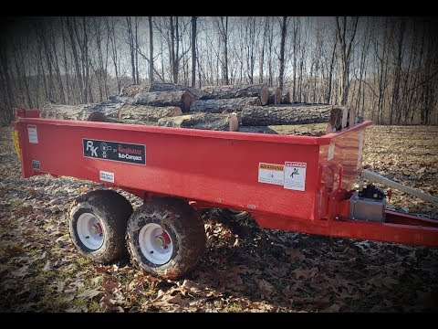 #135 Perfect Dump Trailer For Subcompact Tractor or UTV?