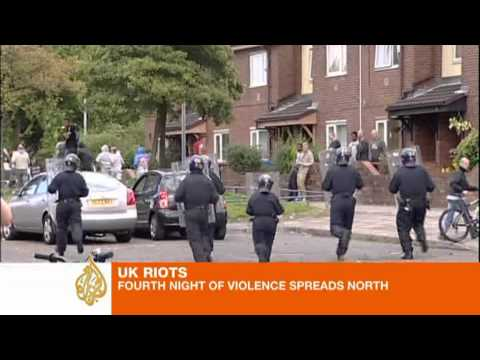UK Riots: Fourth Night Of Violence Spreads North