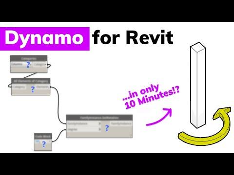Learn Dynamo for Revit in 10 Minutes (DIY Dynamo)