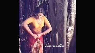 ACTRESS MEENA VERY RARE HOT CLEAR NAVEL AND CLEVEGE SCENS