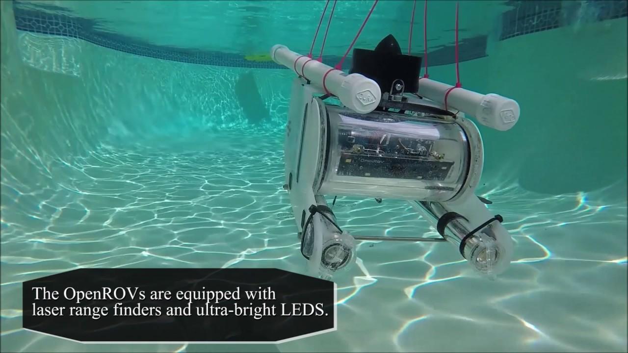 Introducing the Summer 2017 Robotic Fleet @ Swarm Lab - YouTube