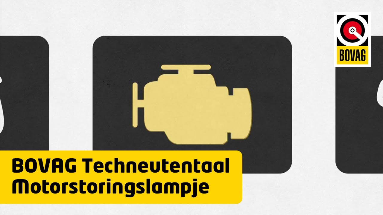 Motorstoringslampje Bovag Techneutentaal Youtube