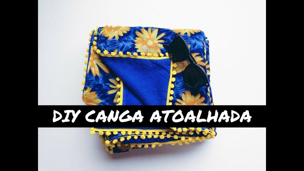 f37b028c5 DIY   COMO FAZER CANGA ATOALHADA - YouTube