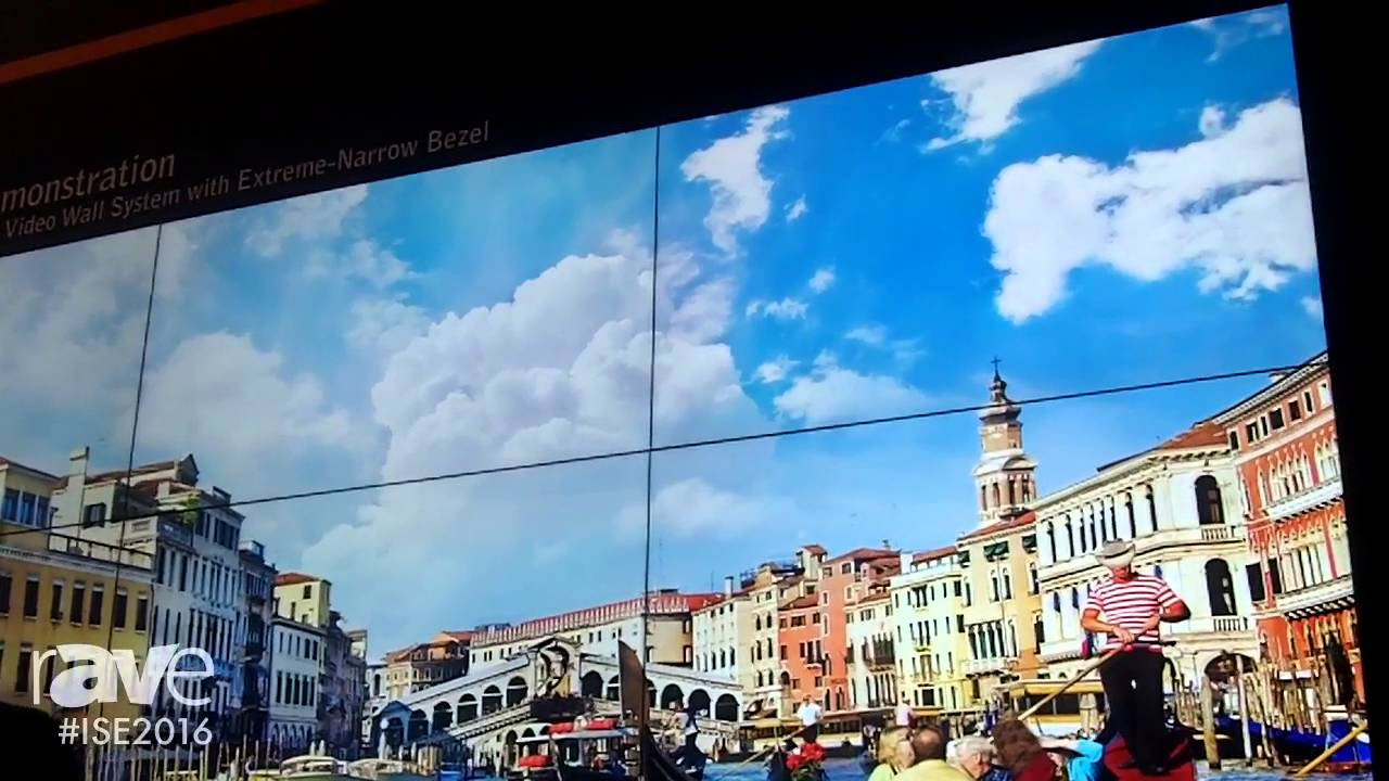 ISE 2016: Planar Demonstrates the Clarity Matrix LCD Video Wall System with  Extreme-Narrow Bezel