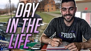 Day In The Life Of A D3 College Basketball Player ?!