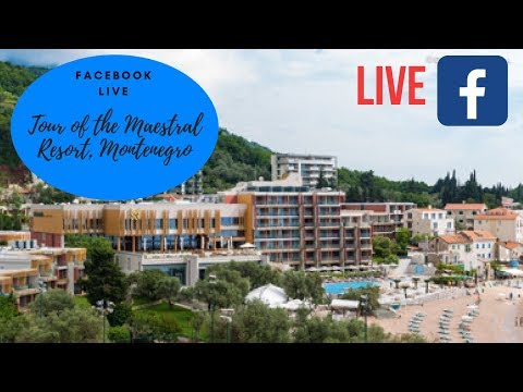 Facebook Live Tour of the Maestral Resort and Casino, Montenegro for Day 1 of 1m HKD Main Event