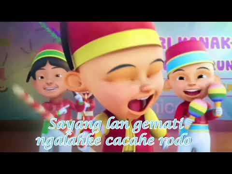 NINJA OPO VESPA Nella Kharisma - Versi Upin Dan Ipin Parody Plus Liriknya Full