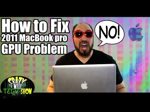 How To Fix 2011 15'' Macbook Pro GPU Problem