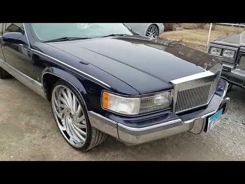 96 cadillac fleetwood brougham on 26 amani forged youtube 96 cadillac fleetwood brougham on 26