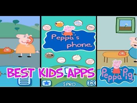 Peppa Pig Games - Свинка Пеппа Детский Телефон Лучшее приложение На Андройд