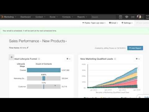 HubSpot Reporting Add-On Demo: Track Your Sales and Marketing Performance