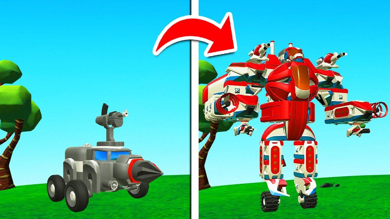 Build A MEGA ROBOT Challenge! (TerraTech)
