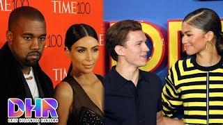 How Kim K. REALLY Feels About Kanye - Zendaya &amp Tom Holland CAUGHT Having Sleepover?! (DHR)