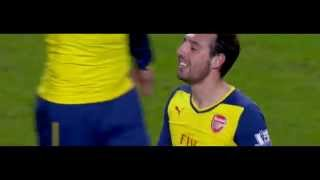 Santi Cazorla vs Manchester City - Short Version - 18/1/15 HD