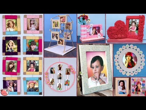 10 Easy : Best DIY Photo Frame Idea || DIY Projects