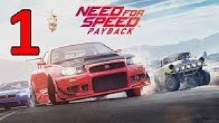 Need For Speed Payback Gameplay Walkthrough Part 1 No Commentary