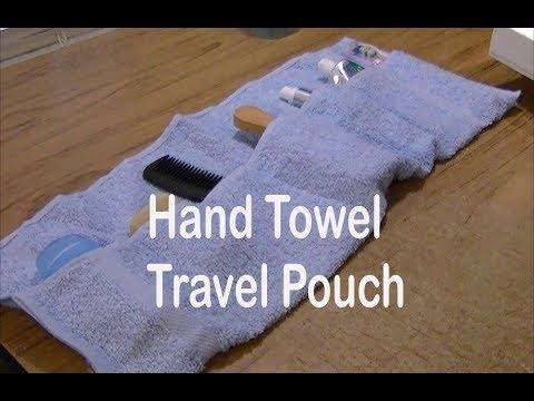 DIY Travel Towel Pouch