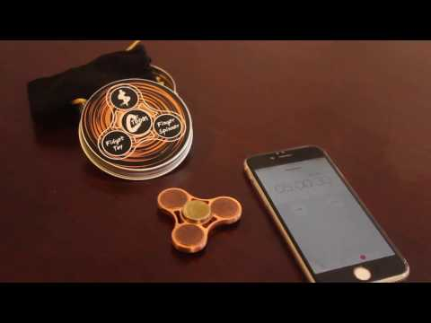 The US Coin Fidget Spinner! Up to 5 Minutes!