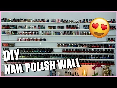 diy-nail-polish-wall