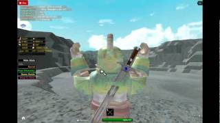 Roblox Skyrim! Level 100 and over 1 billion gold!