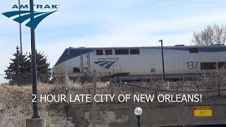 2+ HOUR LATE | Amtrak #390