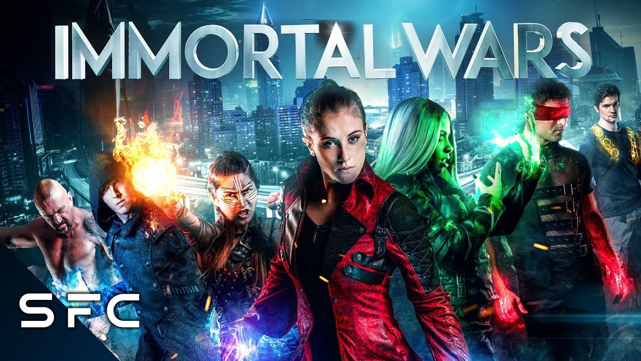 Download The Immortal Wars | Full Action Sci-Fi Movie