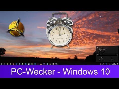PC-Wecker (Alarm) einstellen / verwenden - Windows 10