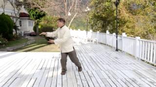 鄭子Cheng Man Ching太極拳台灣有緣拳社鄭永松教練演示37式拳架