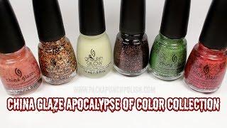 China Glaze Sunsational Nail Polish Collection Makeup